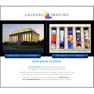 Colours Imaging Website